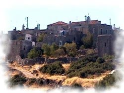 Chios castle villages
